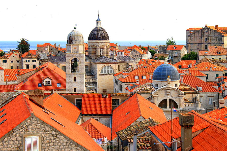 Dubrovnik Rooftops Photograph