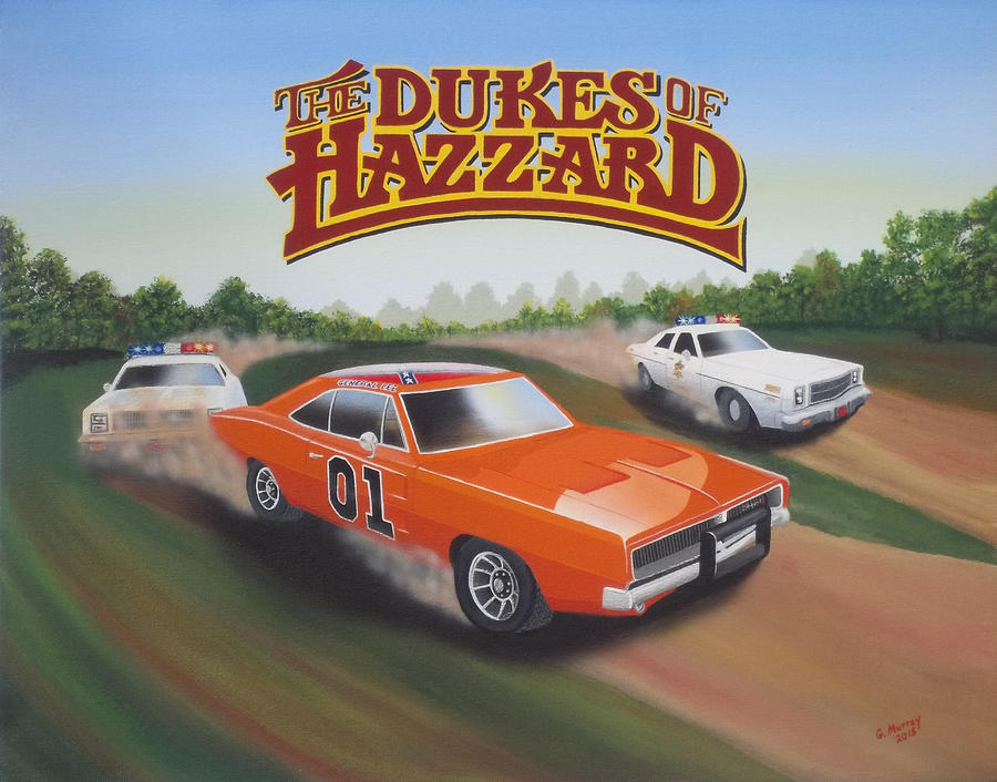 dukes of hazzard drawings