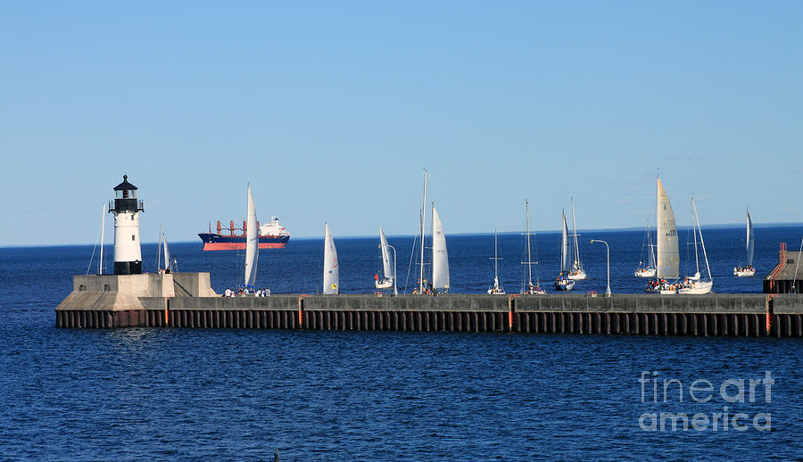 Duluth Mn Harbor Photograph