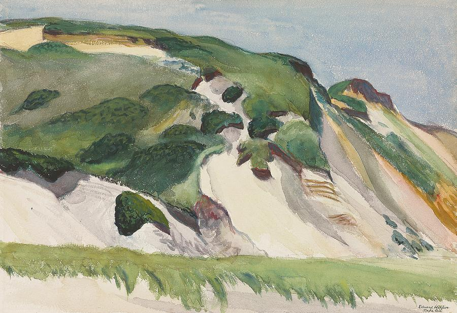 Dune At Truro Painting - Dune At Truro by Edward Hopper