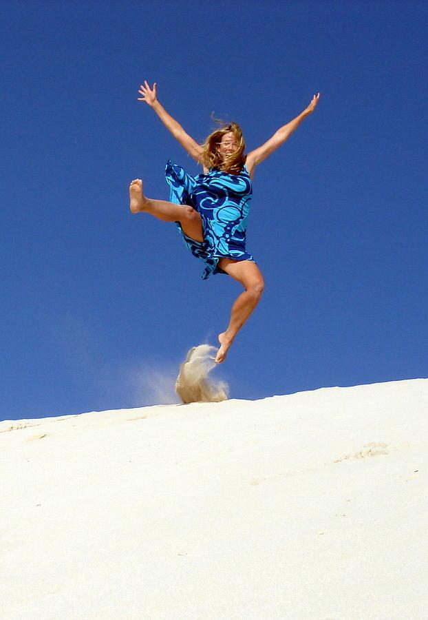Dune Dance Photograph