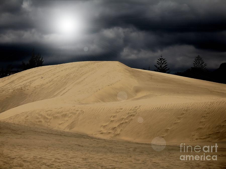 Desert Scape Photograph Photograph - Dune by Flow Fitzgerald