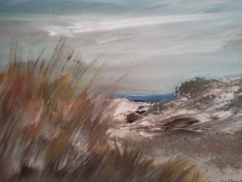 Dune Overlook Painting