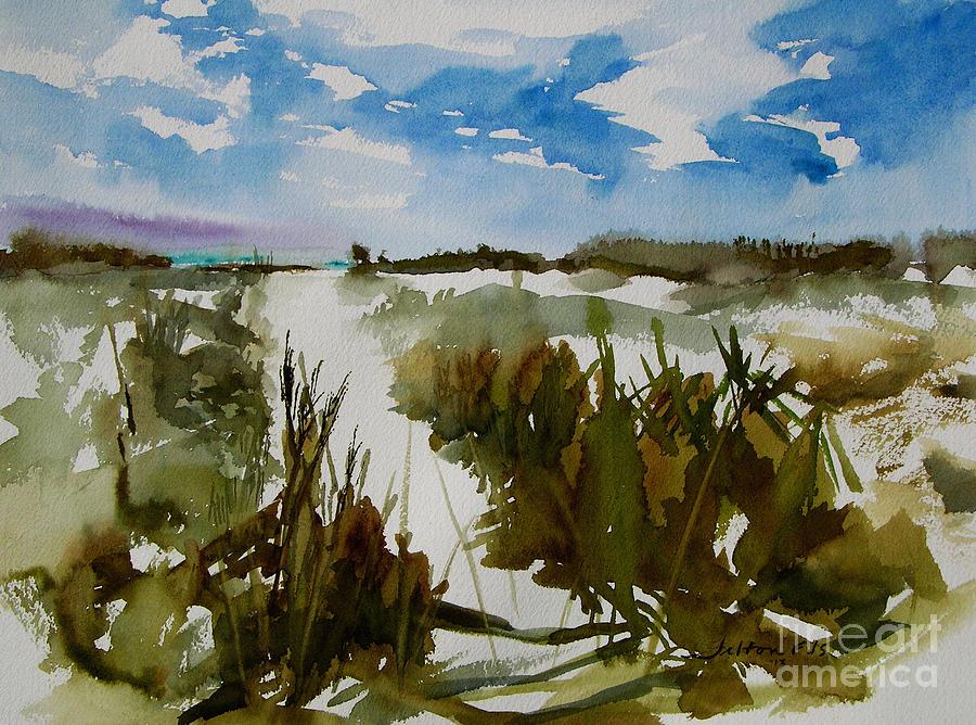 Art Painting - Dunes by Julianne Felton