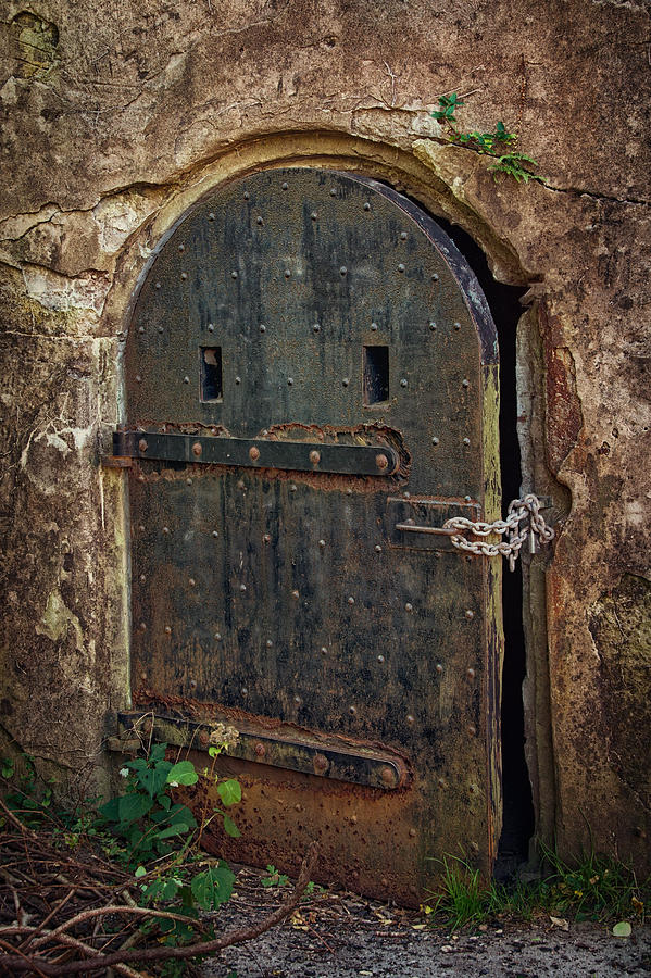 Dungeon Door Photograph By Joan Carroll