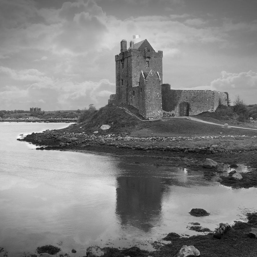 Castle Photograph - Dunguaire Castle - Ireland by Mike McGlothlen