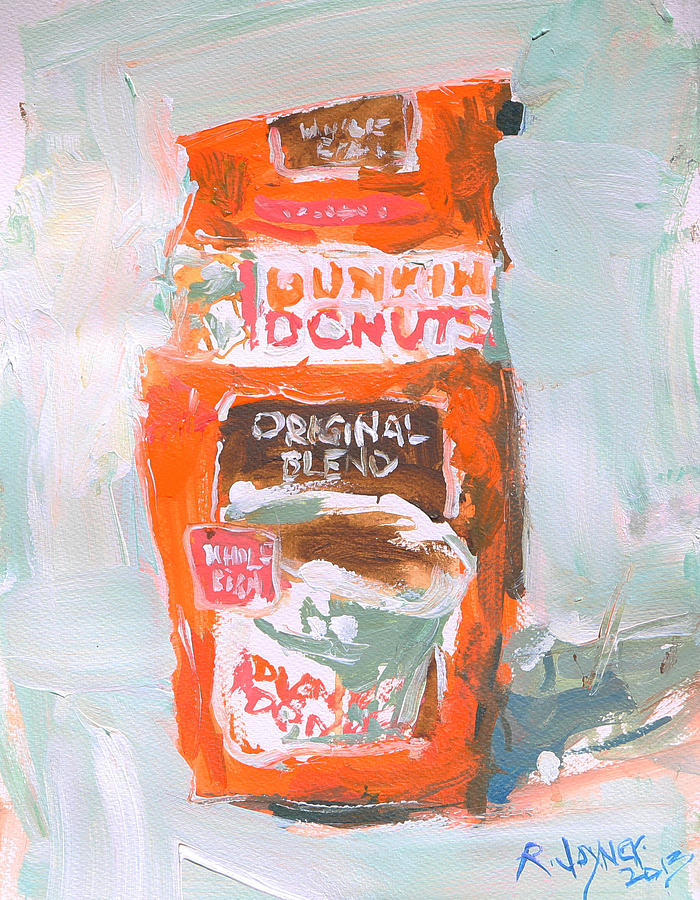 """paper on dunlin donuts The dunkin' donuts foam cup is so familiar to hot coffee drinkers — sold  a  paper cup that looks like foam,"""" said scott murphy, dunkin's chief."""