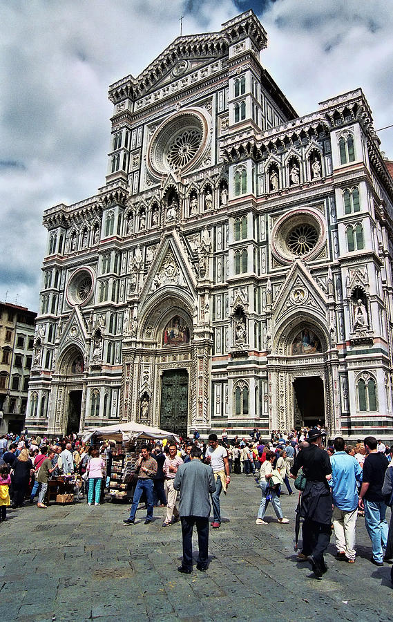 Duomo Of Florence Photograph - Duomo Of Florence by Allen Beatty