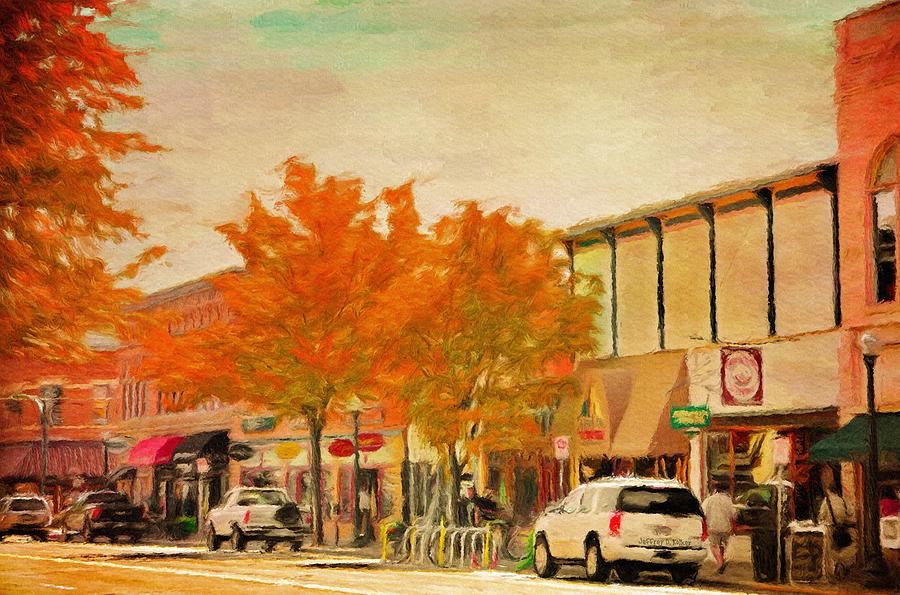 Durango Autumn Painting  - Durango Autumn Fine Art Print