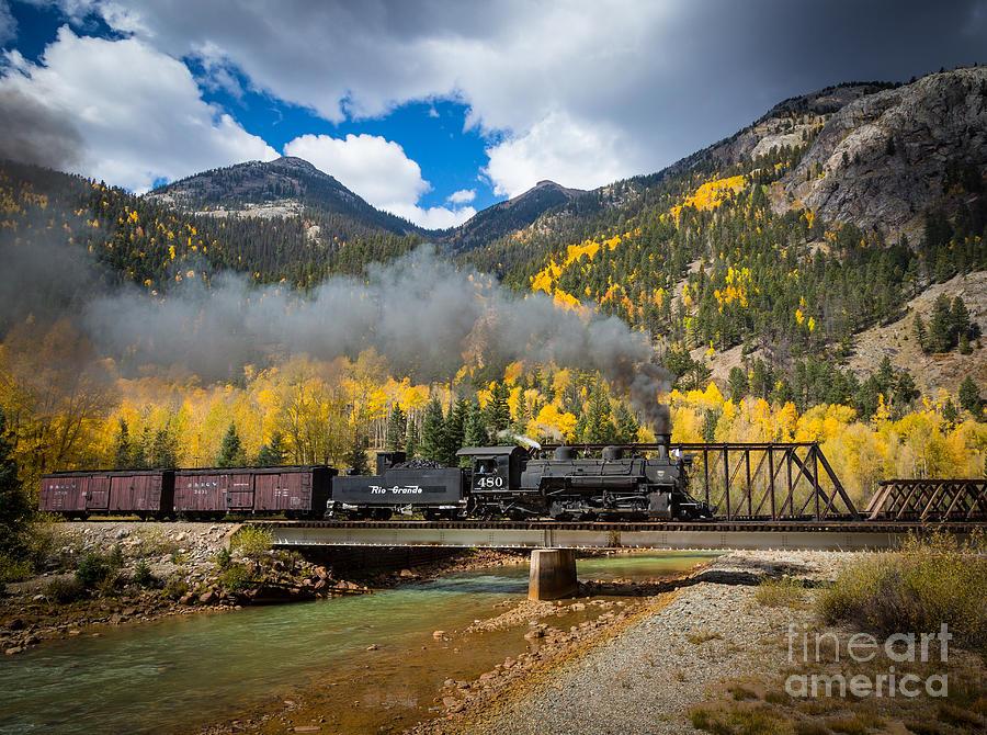 Durango-silverton Twin Bridges Photograph