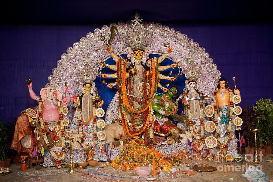 Durga Idol Photograph