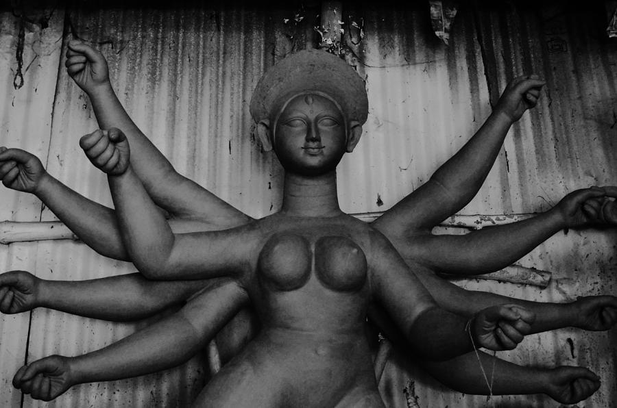 Durga Photograph - Durga Maa by Atin Saha