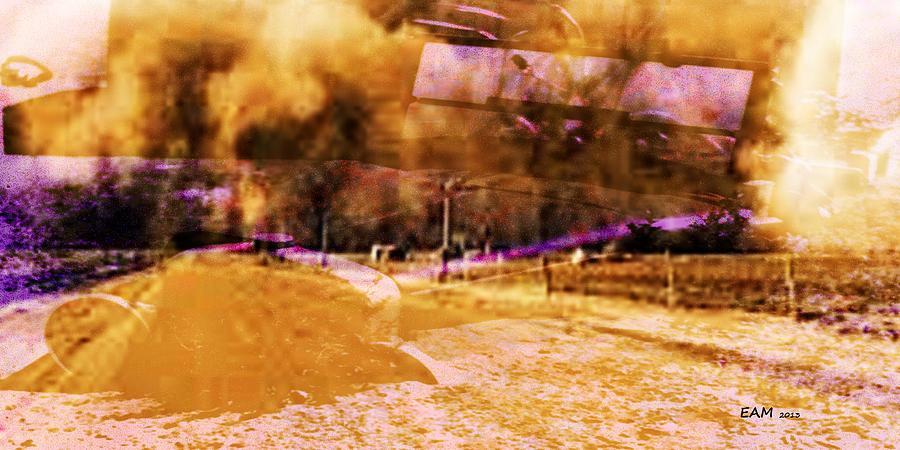 Dust Bowl Digital Art