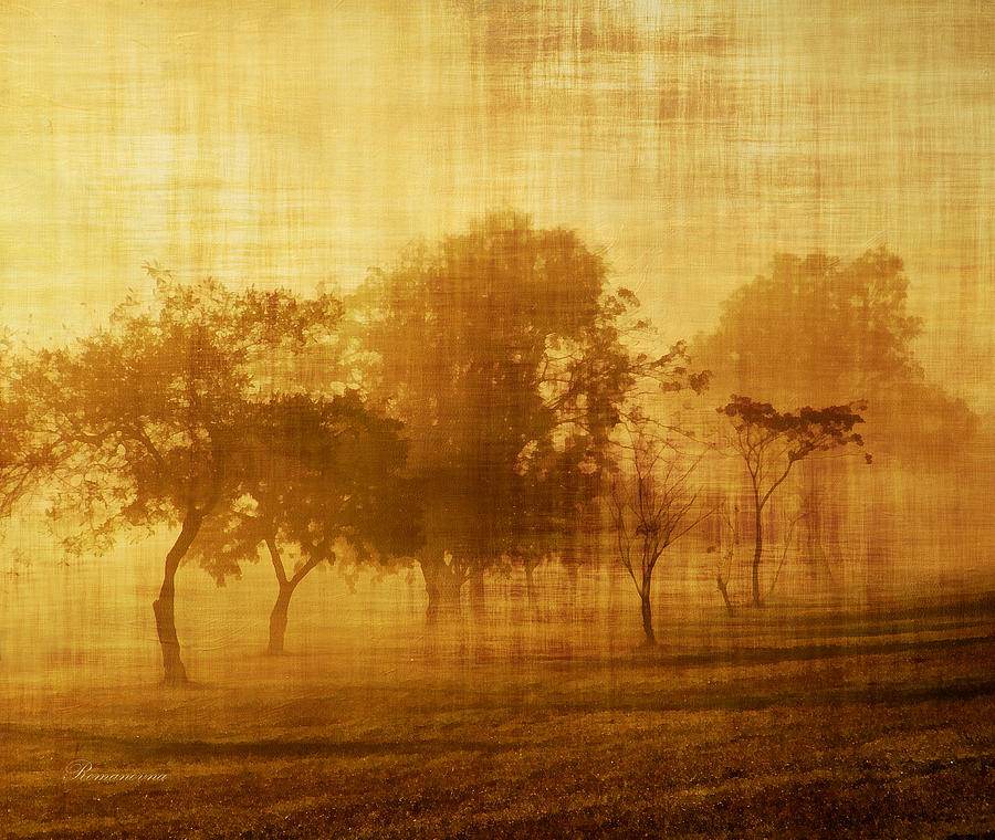 Dusty Mornings In The Sun Vintage Mixed Media  - Dusty Mornings In The Sun Vintage Fine Art Print