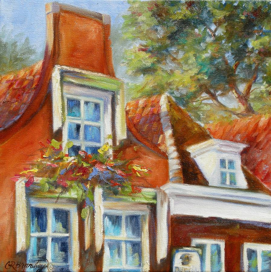 Dutch Gables Painting