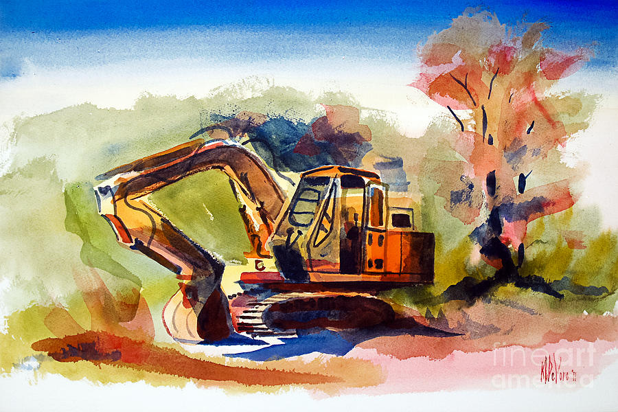Duty Dozer II Painting