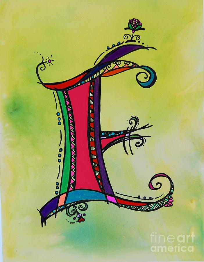 e Monogram Painting