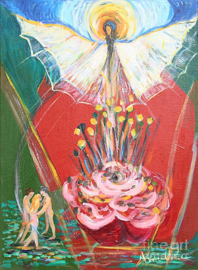 Avonelle Painting - E R A 1974 by Avonelle Kelsey