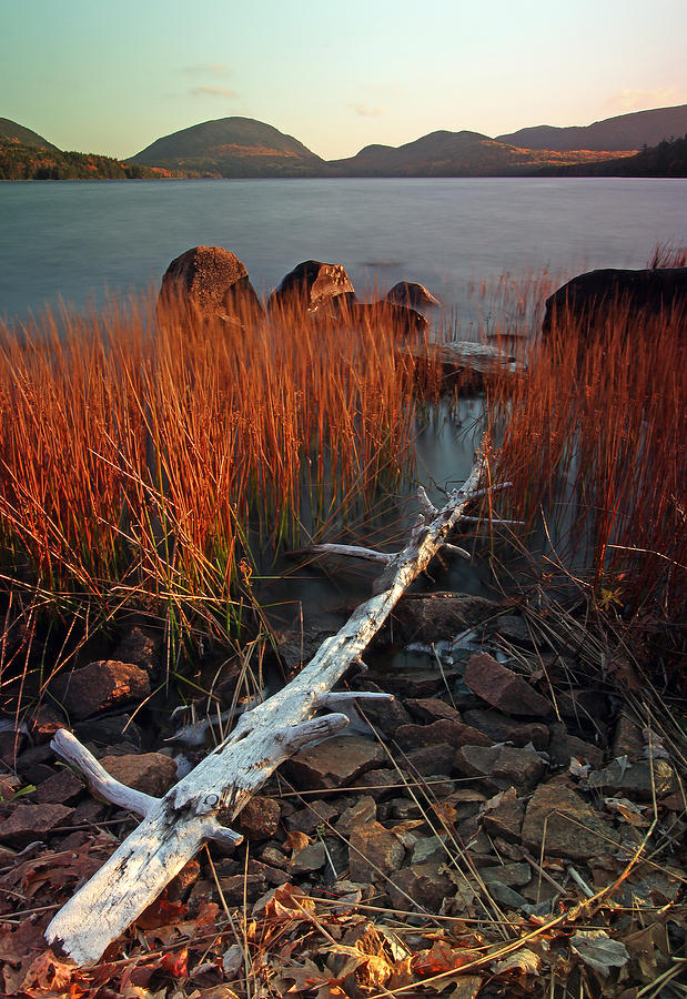 Eagle Lake At Autumn Photograph