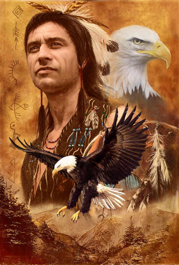 Adult Photograph - Eagle Montage by Garry Walton
