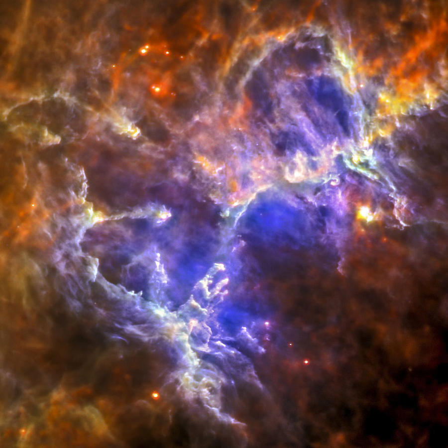 Eagle Nebula Photograph  - Eagle Nebula Fine Art Print