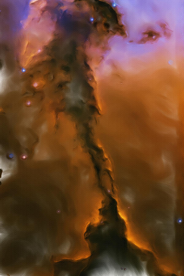 Eagle Nebula Painting  - Eagle Nebula Fine Art Print