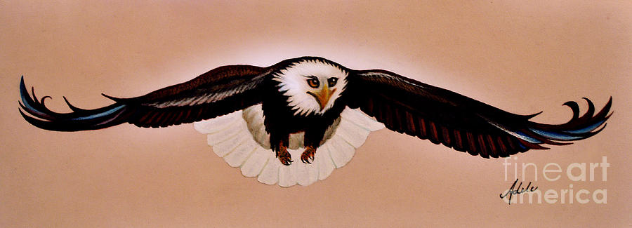 Eagle Stealth Painting  - Eagle Stealth Fine Art Print