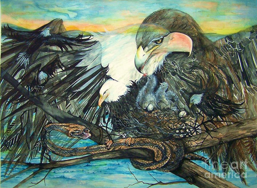 Eagles Nest Painting