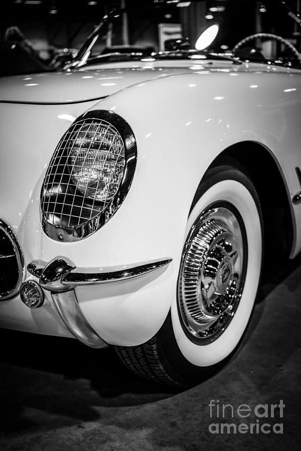 Early 1950s Chevrolet Corvette Photograph
