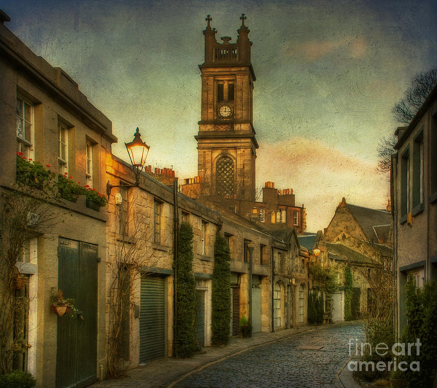 Early Morning Edinburgh Photograph  - Early Morning Edinburgh Fine Art Print