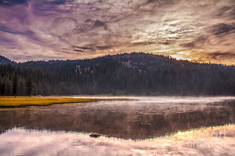 Anthony Lake Photograph - Early Morning Lake Light by Robert Bales