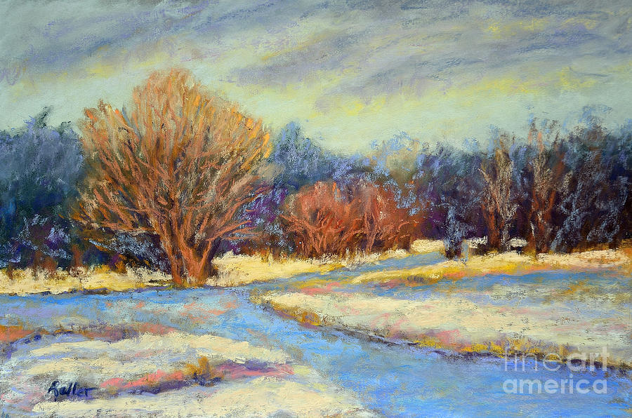 Early Snow Pastel
