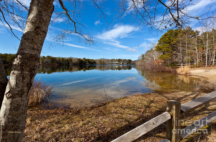 Early Spring On Long Pond Photograph - Early Spring On Long Pond by Michelle Wiarda