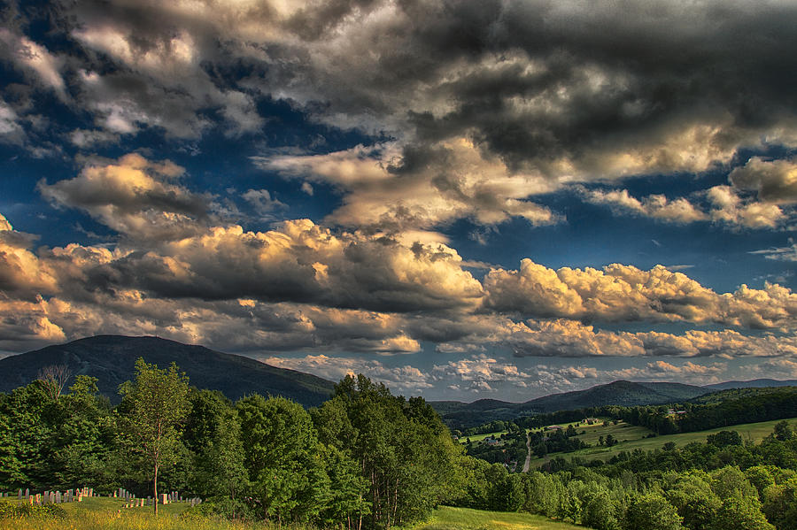 Earth Bending At Mt. Ascutney Photograph  - Earth Bending At Mt. Ascutney Fine Art Print