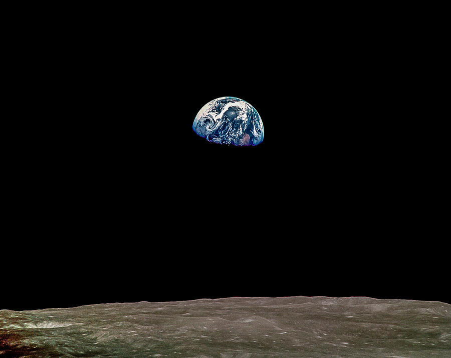 apollo 8 earthrise over moon - photo #13