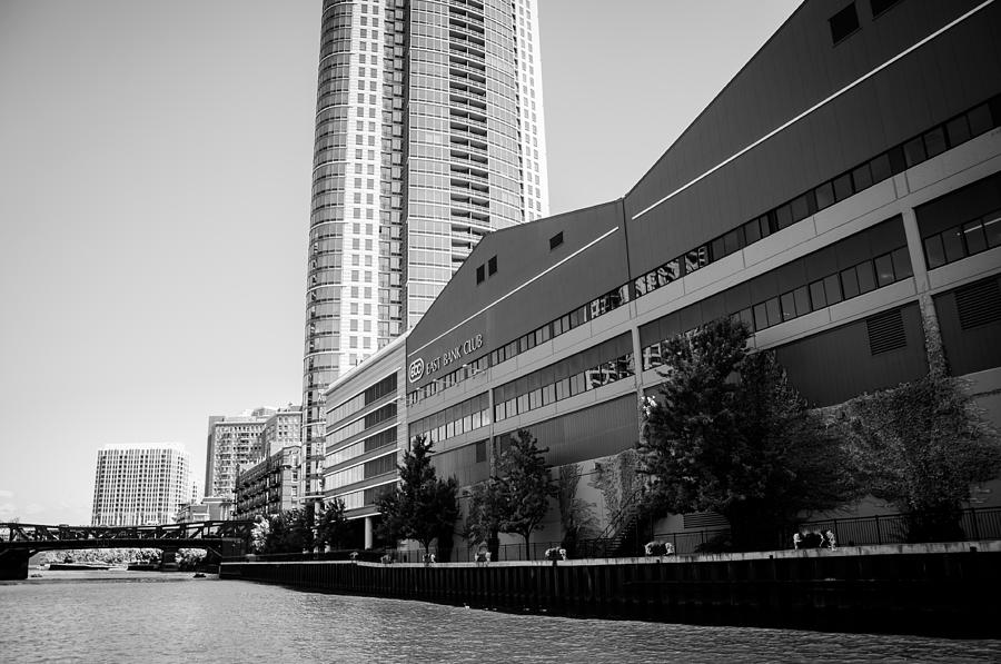 Chicago Photograph - East Bank Club by Ricardo Williams