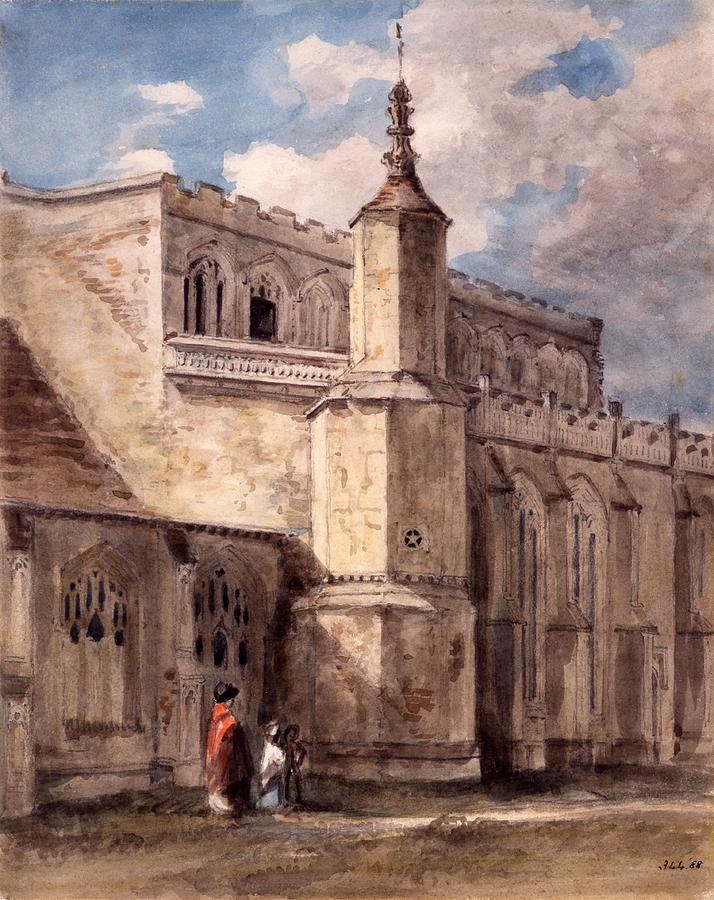 East Bergholt Church, Northside Drawing