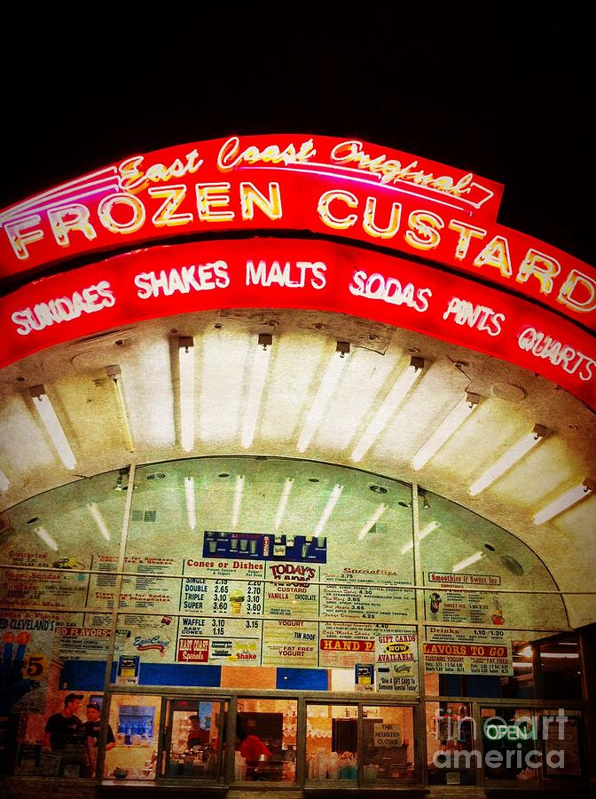 East Coast Custard Photograph  - East Coast Custard Fine Art Print