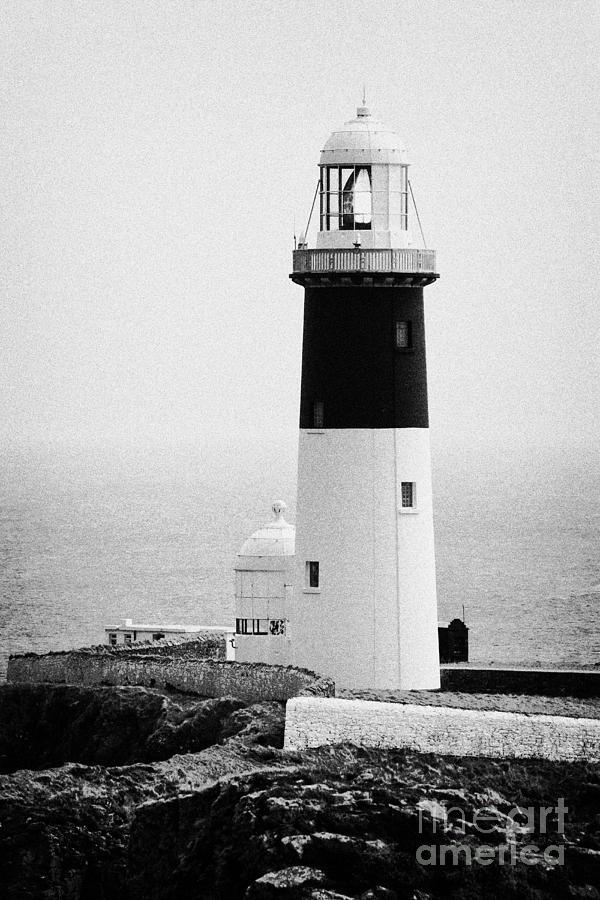 Ireland Photograph - East Light Lighthouse Altacarry Altacorry Head Rathlin Island  by Joe Fox