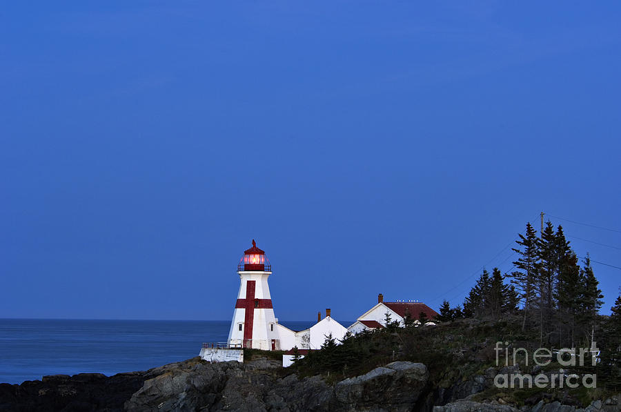 East Quoddy Lighthouse - D002160 Photograph