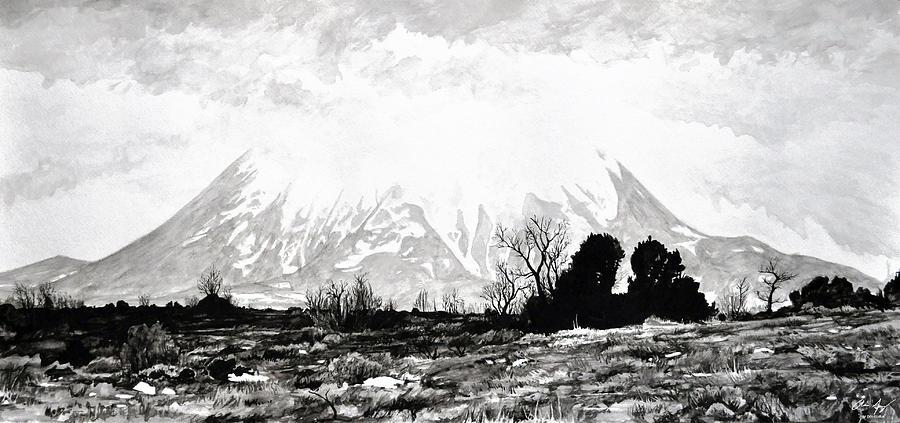 East Spanish Peak Painting