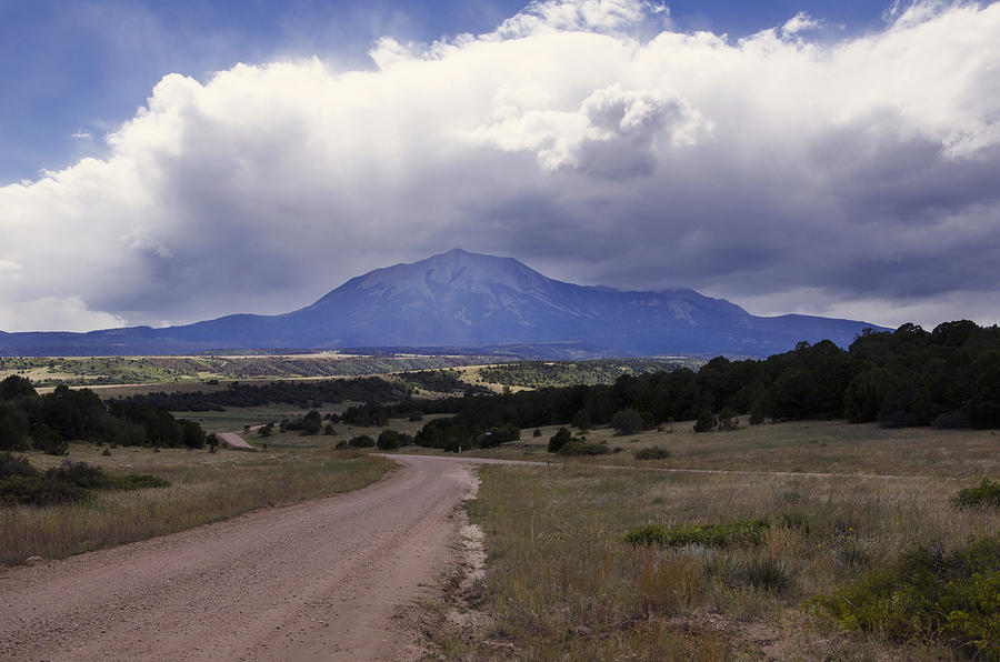 East Spanish Peak Storm Photograph