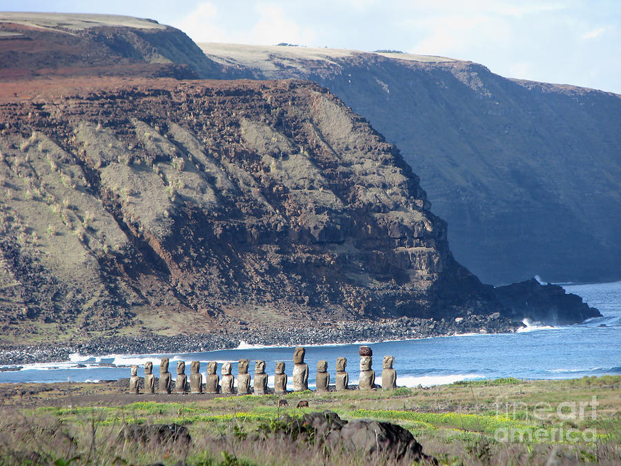 Easter Island Requiem Photograph  - Easter Island Requiem Fine Art Print