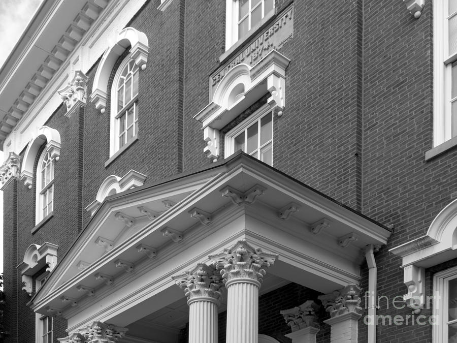 Eastern Kentucky University Crabbe Library Detail Photograph