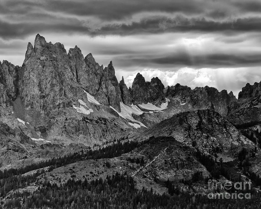 Eastern Sierras Summer Storm 2 Photograph