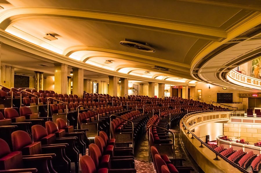 Eastman Theatre Balcony Seating Photograph By Ray Sheley