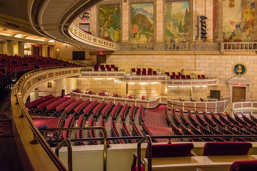 Eastman theatre balcony view photograph by ray sheley for New york balcony view