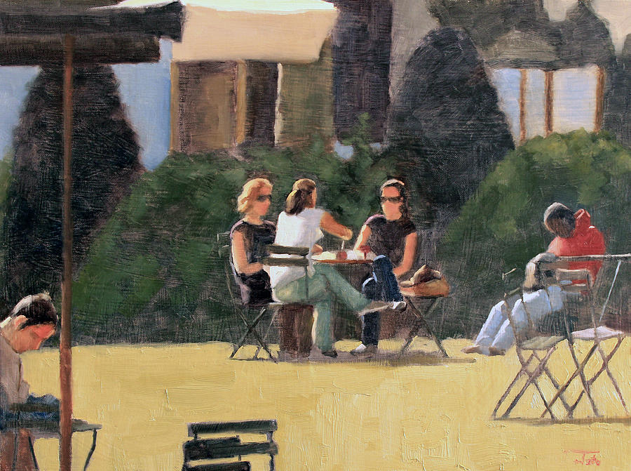 Eavesdroppers Painting