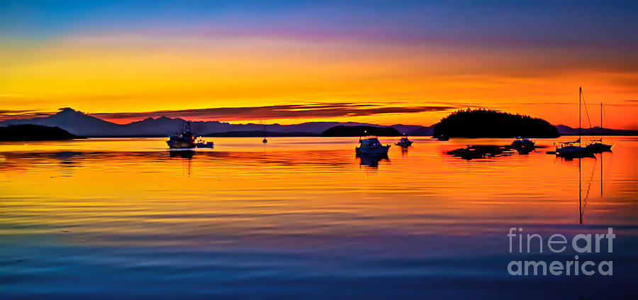 Echo Bay Sunset Photograph