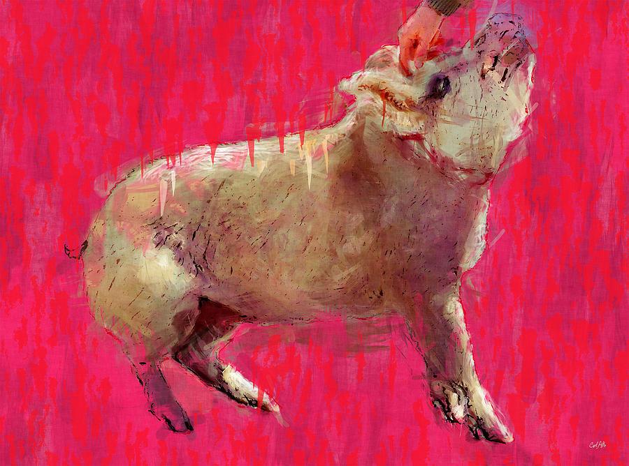 Edgar Allen Pig Painting